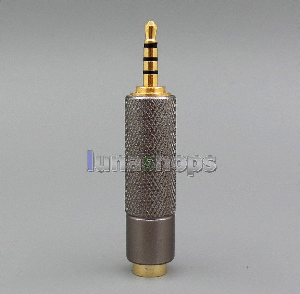 bilder für Trrs 2,5mm ausgewogene stecker auf 3pin 3,5mm weibliche audio adapter für iriver ak240 ak240ss ak380 dp-x1 cayin n5 etc ln005522