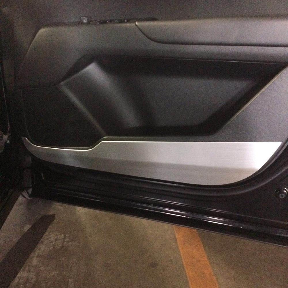 JY Aluminum Interior Door Speaker Anti-Scratch Trim Cover Car Styling Accessories For Mazda CX-5 2017 2018 sus304 stainless steel interior door speaker trim car styling cover accessories for mazda cx 5 kf 2nd gen 2017