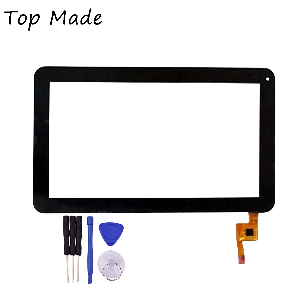 New 10.1 inch Black Touch Screen for GoClever TAB R104 Digitizer Glass Replacement Free Shipping new touch screen digitizer replacement for tab 2 a10 30 yt3 x30 x30f tb2 x30f x30 a6500 black white free shipping