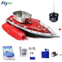 Flytec 2011-3 рыболовная приманка, радиоуправляемая лодка, Интеллектуальная Беспроводная электрическая автоматическая вставка, двойное ведро, б...