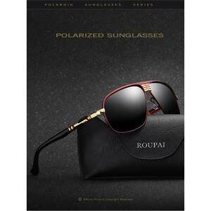 JURUI 2018 Mens Sunglasses Retro Vintage Lens Male Eyewear 60c78ad94c