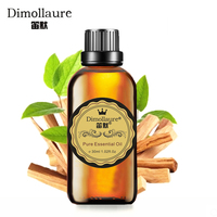 Dimollaure Sandalwood Essential Oil Relax Spirit Aphrodisiac Aromatherapy Fragrance Lamp Body Massage Essential Oil