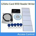 Novo USB 125 khz Cartão de Proximidade RFID Escritor Leitor Copiadora Controlador Duplicador EM4305 Compatível T5577 & 5 pcs Tag Regravável
