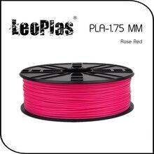 Worldwide Fast Delivery Direct Manufacturer 3D Printer Material 1 kg 2.2 lb 1.75mm Rose Red PLA Filament