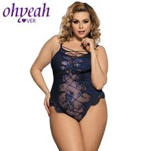 Ohyeahlover Boby Mujer, сексуальный короткий комбинезон для женщин, на шнуровке, бандажный комбинезон размера плюс, открытая спина, прозрачный комбинезон, RM80327