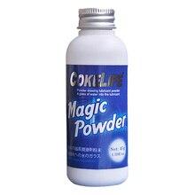 45 г/бутылка magic порошок смазки на водной основе, смешивается С Водой 5 г Может Создать 50 г Смазки Для Анального Секса и Массаж Тела