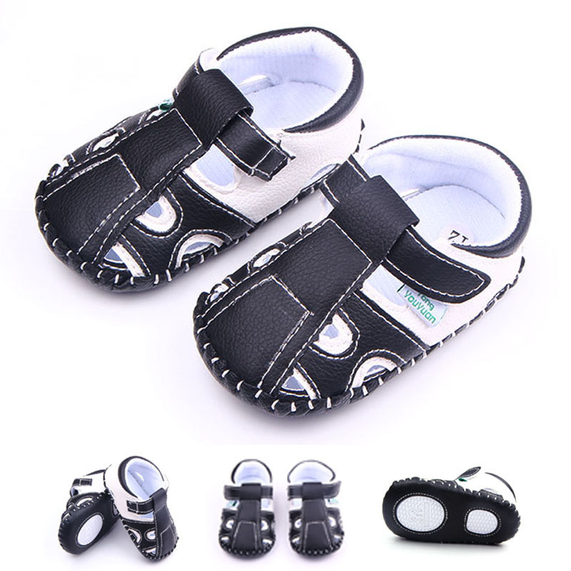2016 New Baby Summer Shoes Boys Hard Sole Toddler Antislip ...