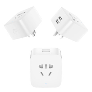 Image 4 - Xiaomi Mijia Smart Plug Socket Enhanced Dual USB Fast Charger ZigBee/Basic Socket No USB Wireless WiFi Mi Home APP Control H25