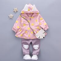 Baby Girl Clothes Toddler Children S Clothing Suits Kids 2PCS Infential Baby Girl Suit Sets