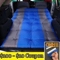 free shipping!!! Automatic Inflatable Big Size SUV Car Inflatable Bed Outdoor Travel Car Air Mattress Bed Auto Supplies|Car Travel Bed| |  -