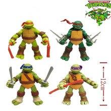2016 New version of the Teenage Mutant Ninja Turtles action figure TMNT 1 set of 4 dolls