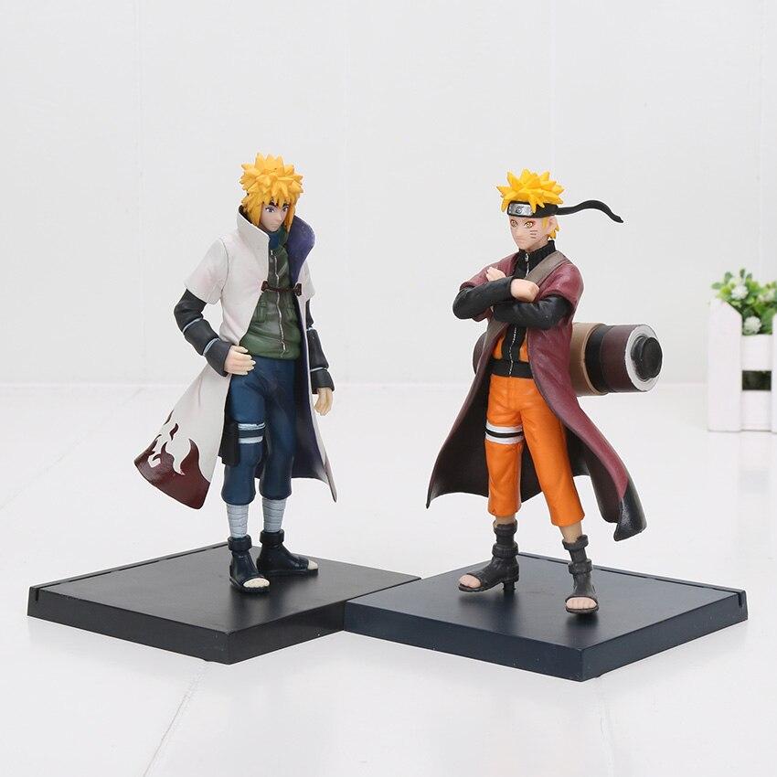 17cm anime Naruto figure Shippuuden Uzumaki doll manpower Namikaze Minato Mode NARUTO pvc action figure model toys