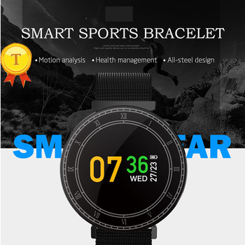 Toptronics H1 IP67 Smart Sports Bracelet with Motion Analysis Health Management All-Steel Design Smartband For Outdoor Sports