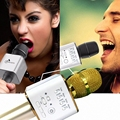 Q9 Microphone Bluetooth Wireless Professional Karaoke Player Mini Speaker For Iphone Android Smartphones 10pcs/lot By DHL Free