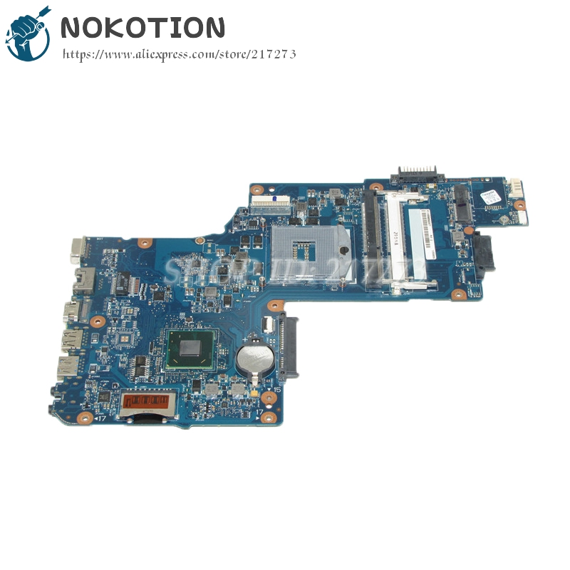 NOKOTION H000052360 PC System board For Toshiba Satellite C850 L850 Laptop Motherboard SLJ8E HM76 gma hd DDR3