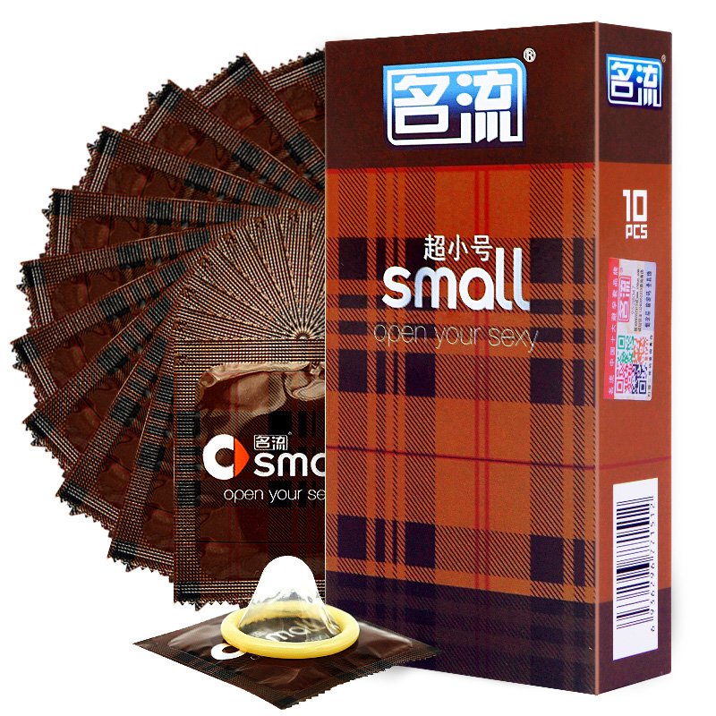 Mingliu Small Condoms For Men 10Pcslot Ultra Thin Width -6025