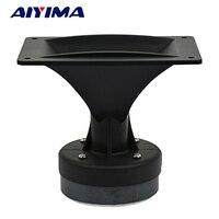 AIYIMA 1Pc 4Inch Audio Portable Speaker 8Ohm 80W Tweeter Loudspeaker DIY Stage Speaker Horn Treble Home