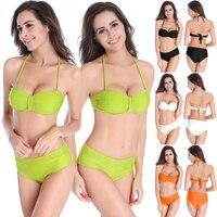 2016 Newest Summer Sexy Bikini Women Swimwear Fashion Occidental Secret Beach Swimsuit 4 Colors M L