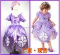 Princess Sofia Costume Disfraz Princesa Sofia Dress For Kids Free Shipping