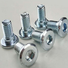 length 18mm 28mm scooter motorbike motorcycle disc brake Hexagonal screw 8MM 10pcs/lot free shipping