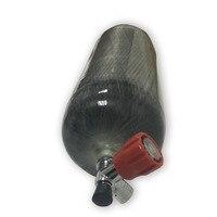 Оригинальный 9L 95cf Дайвинг Air Tank, углеродного волокна цилиндр, завернутый Пейнтбол Бак 4500psi высокое Давление с клапаном