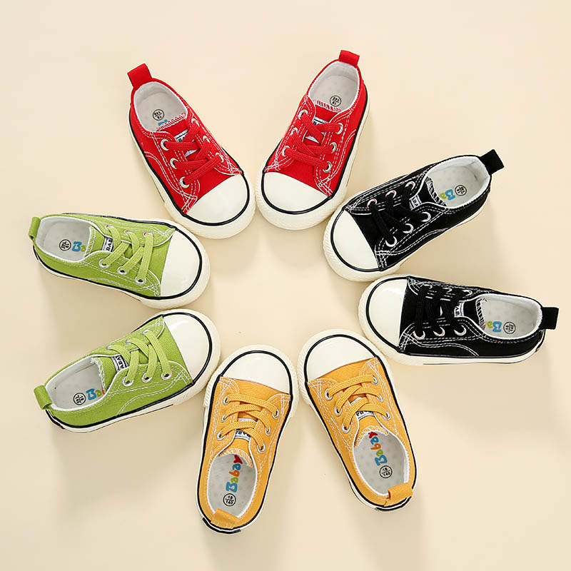 Babaya Canvas Shoes Baby-Girl Toddler Autumn Boys New Children Spring 1-3-Years-Old