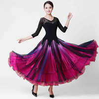 Ballroom Competition Dance Dress 2019 New Design Tango Flamenco Waltz Dancing Skirt Women Standard Ballroom Dance Dresses