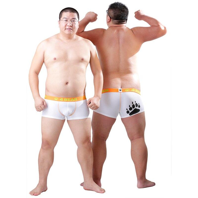 2017 Nouvelle Arrivée Ours Griffe Hommes de Plus La Taille Boxeurs Ours patte Sous-Vêtements Conçu Pour Gay Ours 6 Couleurs Livraison Gratuite! M L XL XXL