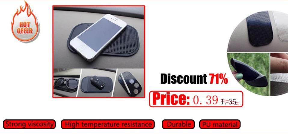 HTB1bRzkacrrK1RjSspaxh7REXXaq - Car Ornament Silicone 360 Rotating Phone Holder Non-Slip Mat Automobile Dashboard Adjustable Angle Anti Slip Mat Car Gadget