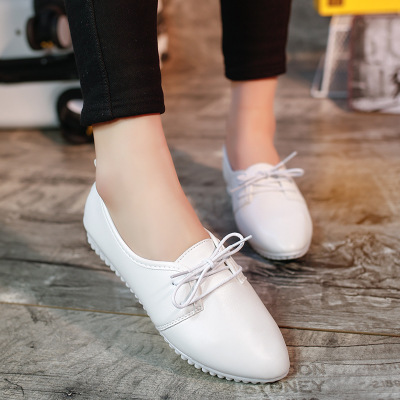 32f69a26afc6 Dropshipping Women Flats Shoes Casual Faux Suede Lace Up Women Boat Shoes  loafers Oxfords Platform-in Women s Flats from Shoes on Aliexpress.com