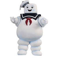 28 cm Vendimia Ghostbusters 3 Stay Puft Marshmallow Man Banco Marinero Figura de Acción de Juguete Muñeca