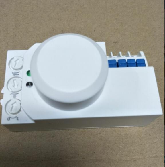 Microwave Radar Sensor Body Motion Detector Light Switch AC 220V-240V 5.8GHz 1200W MAX td tad wb8 3 3ghz microwave radar motion sensor switch 220v