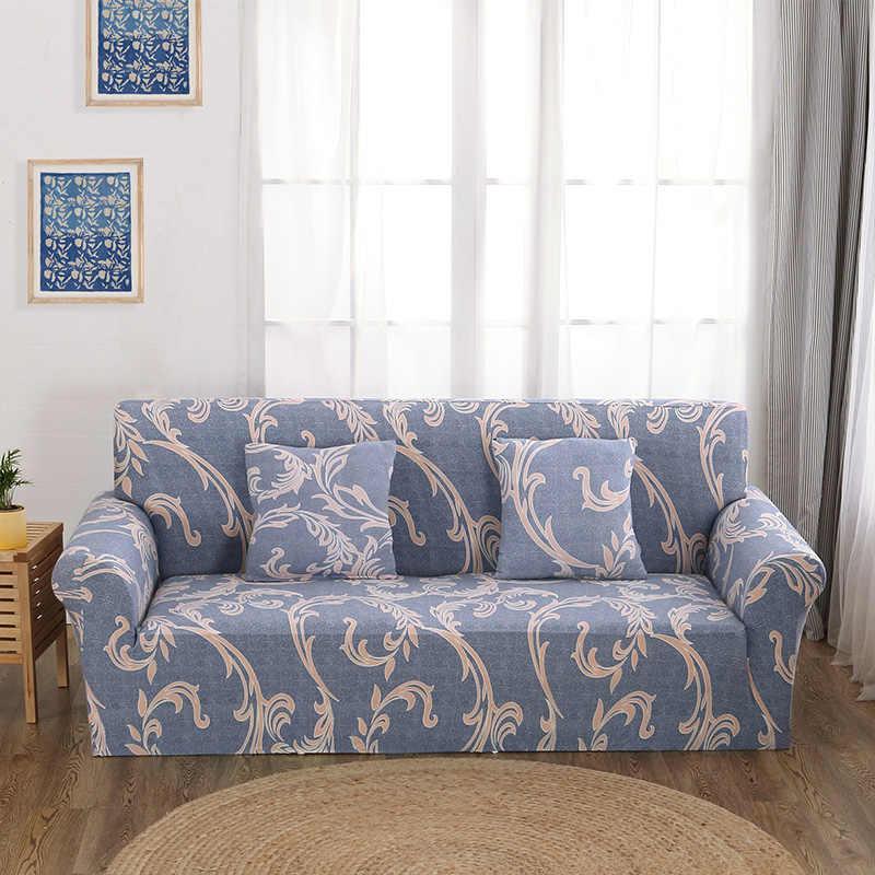 Роскошный из жаккарда в европейском стиле эластичный диванных чехлов для кресло угловой секционный диван 1/2/3/4 места Универсальный