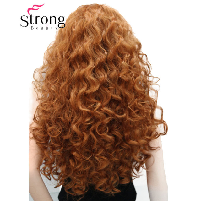 StrongBeauty Long Layers Curls no Part Full Synthetic Wig Women's Wigs COLOUR CHOICES 1