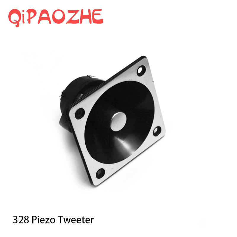 2PC Piezoelectric Tweeter 75W Loudspeaker Treble Audio Speaker Piezo Tweeter Driver Head