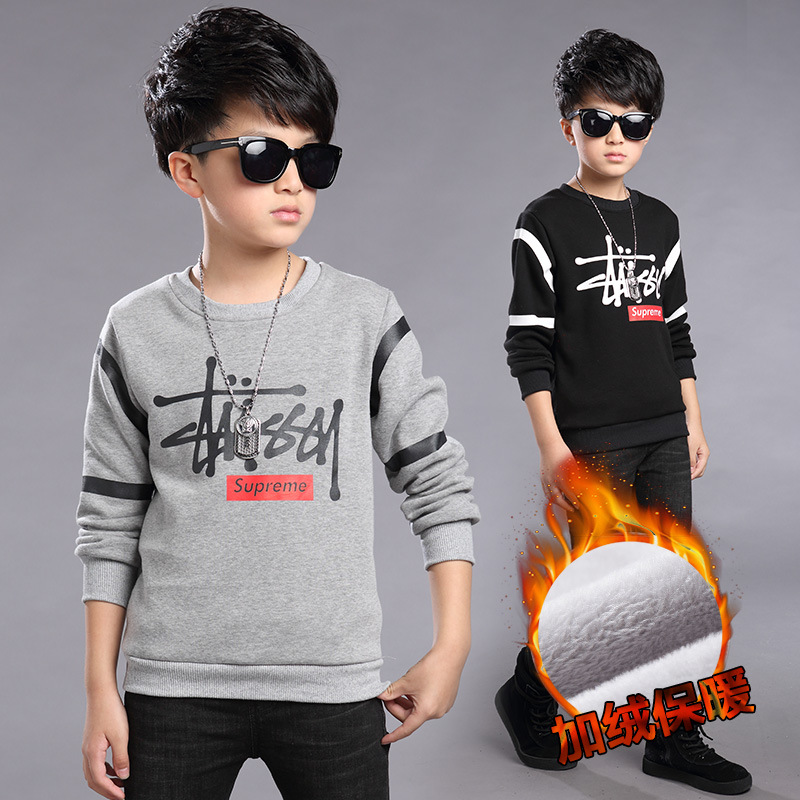 Fashion Autumn Winter Boys T Shirt for Kids Children Boy T shirt Cotton Casual Child Long