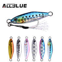 ALLBLUE 2019 DRAGER Micro Metal Jig 3g 5g 7g 10g Shore Casting Jigging Spoon Lead Sea Cast Fishing Lure Artificial Bait Tackle
