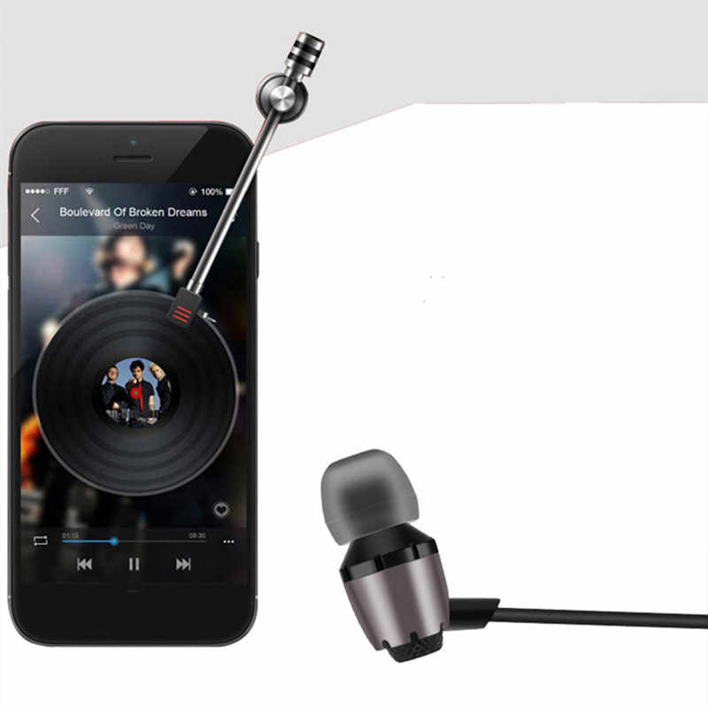 Abingo S600i In Ear Bass Headset with Microphone Stereo Hifi Earphone 3.5mm Jack Wired Earbuds Volume Control for Xiaomi/Samsung