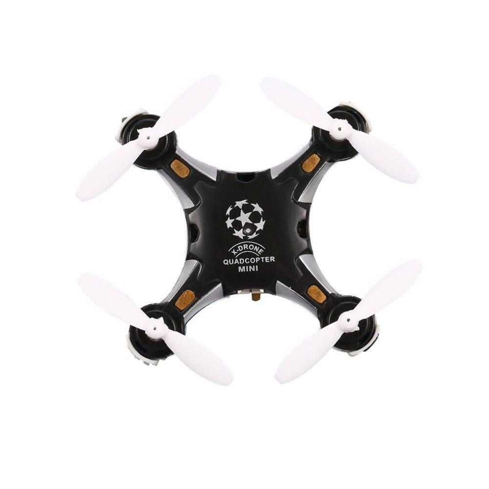 FQ777 124 2 4G 4CH Six-axis Gyro Mini Drone 360 Degree Flip Headless Mode One Key Return RC Pocket Quadcopter RTF with Light