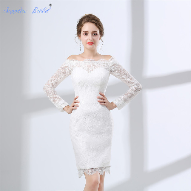 Sapphire Bridal Vestido De Noiva Country Style Wedding Dress Long ...