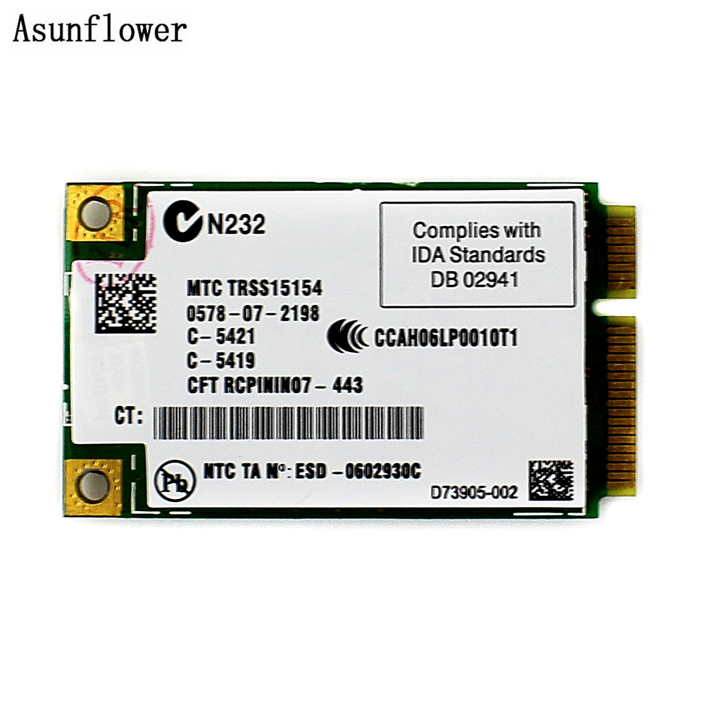 300Mbps Wireless WiFi Link 4965AGN Dual Band MIMO Mini PCI-E Card