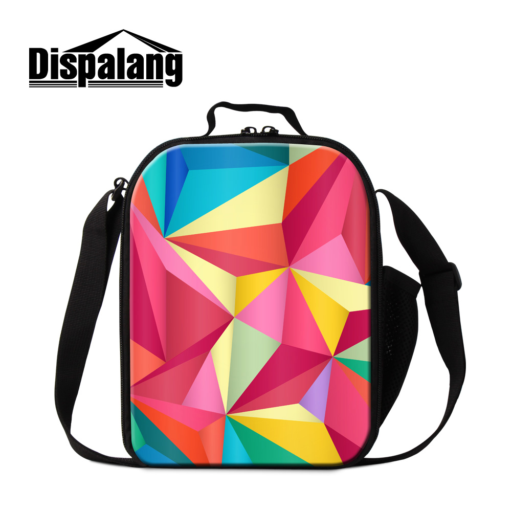 80ad52c8a177 Dispalang newly design explosion models lunch bags for students school meal  package geometry thermal lunch cooler bags lunch box-in Lunch Bags from  Luggage ...