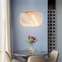 Современная гостиная Висячие огни Скандинавская спальная лампа Вилла гостиничный клуб Светодиодные лампы творческая личность E27 Подвеска