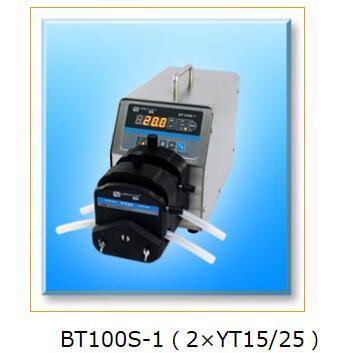 BT100S-1  2X YT25  Industrial Medical Lab Basic Variable Speed Water Fluid Dosing Pump Dosing Peristaltic Pump 0.17-720ml/min peristaltic plus s с 1 мес 2 шт