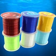 Japan 500m New Brand Nylon Series Super Strong Fishing Line Multifilament Fishing Tape Monofilament Fishing Accessories