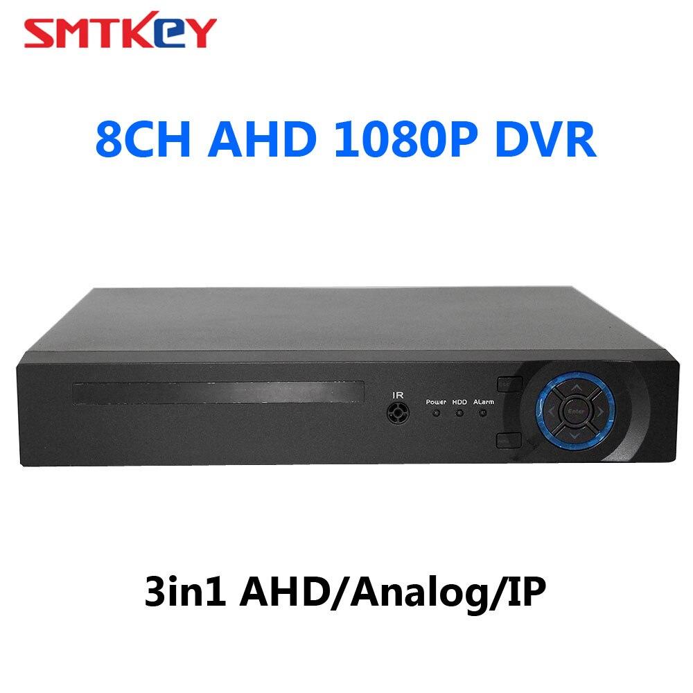 P2P 1080P AHD DVR 3in1 AHD/Analog/IP Hybrid 8ch AHD-H Analog CCTV Video RecorderP2P 1080P AHD DVR 3in1 AHD/Analog/IP Hybrid 8ch AHD-H Analog CCTV Video Recorder