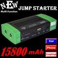 15800 mAH Cargador Multi-Función de Banco de Potencia Para Tabletas/Portátil/teléfono/coche de Batería Externa Recargable de Copia de seguridad poder