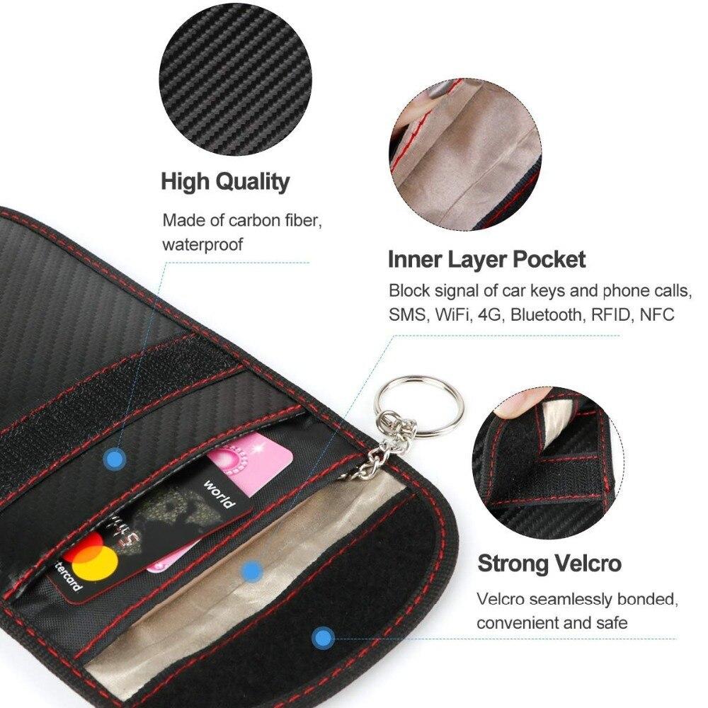 Signal blocking bag multi use-4