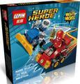Lepin 07026 dc hero poderoso micros série len snart capitão/flash figuras building block brinquedos clássicos do cinema decoração presente