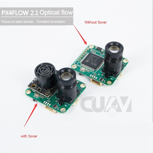 US $62 89 |CUAV PX4FLOW 2 21 Optical Flow Sensor Smart Camera for PX4  PIXHAWK Flight Control-in Parts & Accessories from Toys & Hobbies on